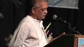 Gulzar Sahab at Vishwa Hindi Sammelan