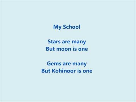 A Poem on School