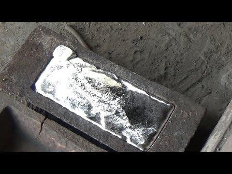 How to Make Aluminium ingots? | Re Melting Process from Scrap Metal | Dross Re Cycling | Ash Process