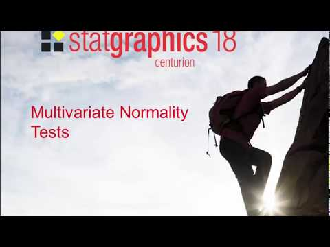 Multivariate Normality Tests