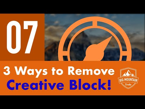 3 Ways for Removing Creative Block