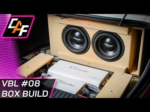 Avoid measurement mistakes! Subwoofer Box Build CarAudioFabrication