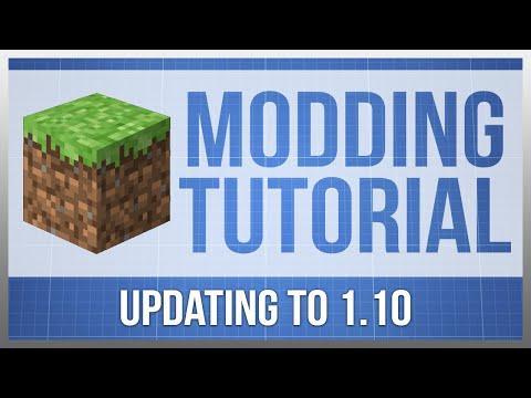 Minecraft 1.10: Modding Tutorial - Updating (#9)