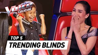 The Voice Kids | TRENDING Blind Auditions