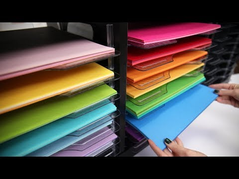 How to Store Paper in a Cube Storage | We R Stack and Nest Paper Trays