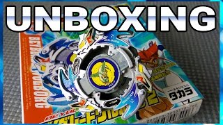 Unboxing Beyblade A-39 Wolborg 2