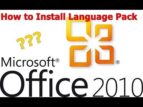 How to change Language in MS Office 2010/Kako prevesti MS office 2010 na Hrvatski (TUTORIAL)