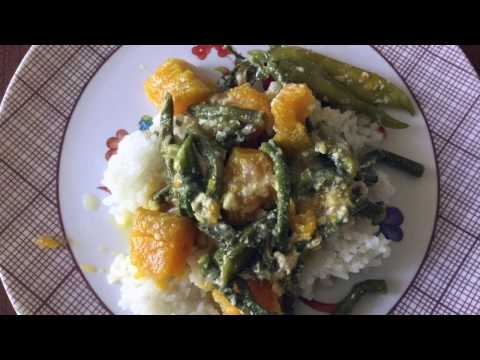 How to cook Ginataang Kalabasa with Tinapa / Ursula Moosmann