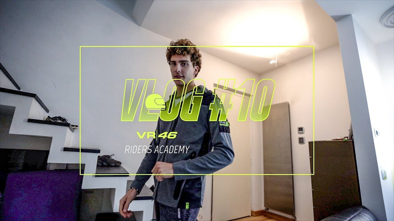 VLOG VR46 Riders Academy #10 - Lorenzo Baldassarri