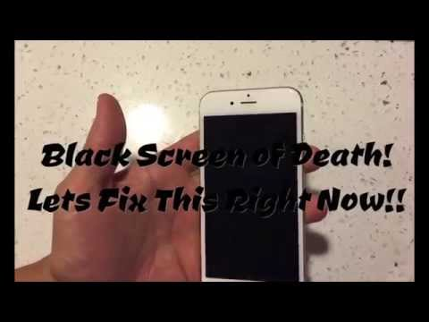 FIXED!! IPHONES, IPADS, IPODS: DISPLAY NOT COMING ON? BLACK SCREEN?