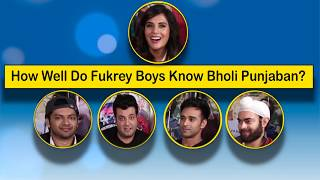 Fukrey Returns Gang Are In A LAUGH RIOT While They Indulge In The HILARIOUS Richa Chadda Quiz