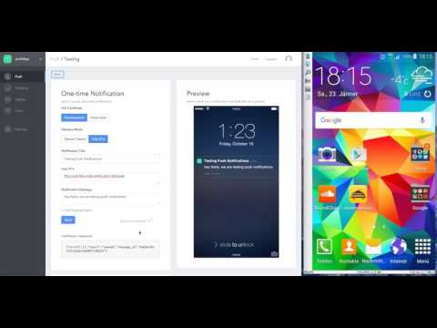 Testing Push Notification for Android | Code Square Software Engineering