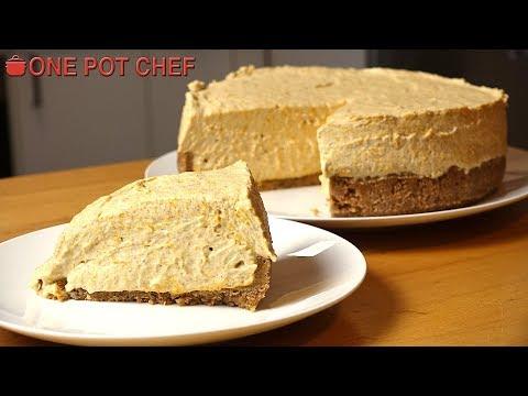 No Bake Pumpkin Pie Cheesecake | One Pot Chef