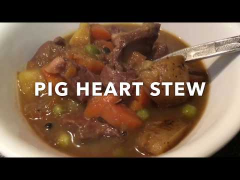 Fast Forward Cooking PIG HEART STEW
