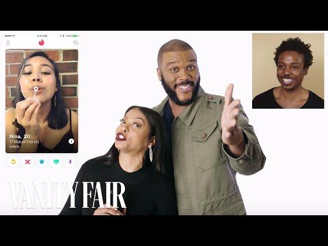 Taraji P. Henson and Tyler Perry Hijack a Stranger's Tinder   Vanity Fair