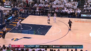 Quarter 4 One Box Video :Jazz Vs. Clippers, 4/28/2017 12:00:00 AM