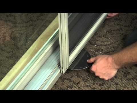 How to Remove and Reinstall a Screen on a Vinyl Sliding Patio Door