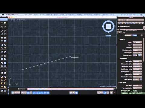 AutoCAD 2014 for Mac Tutorial   The Drawing Area