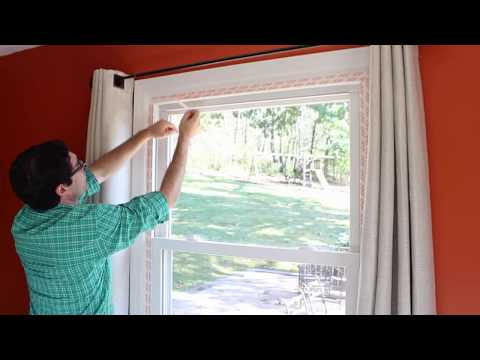 How to Weatherize Windows with Plastic Film Insulation -- by Home Repair Tutor