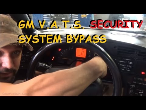 GM VATS Key / Resistor Key Security Bypass