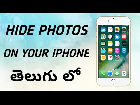 how without apps to hide photos in iphone 5/6/7/8 /x