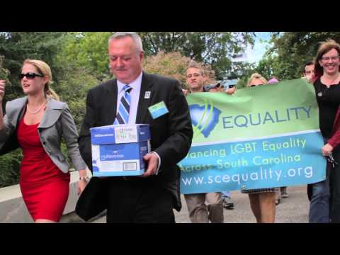SC Marriage Equality Rally - Oct. 8, 2014