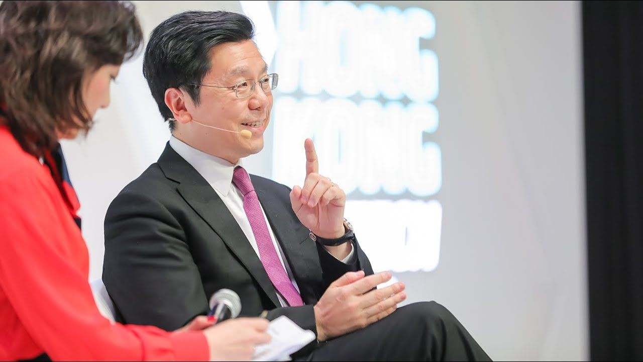 Fireside Chat with World-Renowned AI Expert, Kai-Fu Lee at the Hong Kong FinTech Week