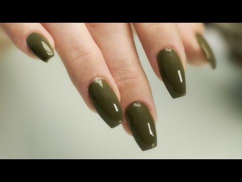 Coffin - Ballerina Shaped Nails