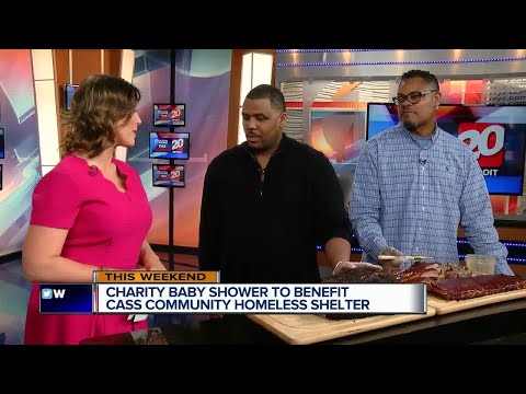 Charity Baby Shower to support Cass Community Homeless Shelter