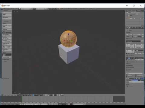 Adding a new mesh in Blender
