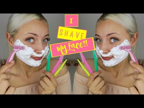 BEAUTY HACK - HOW & WHY I SHAVE MY FACE?