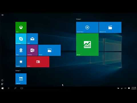 Windows 10 - How to Close Apps in Tablet Mode