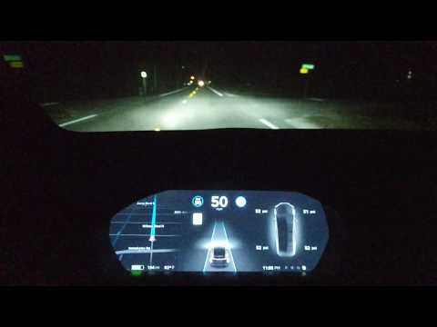 Falling Asleep While Driving w/ TESLA AutoPilot