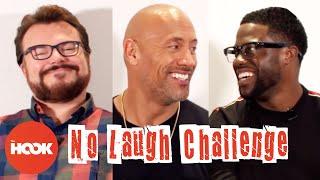DWAYNE JOHNSON, KEVIN HART & JACK BLACK Try To Make Each Other Laugh | Jumanji | The Hook