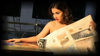Vidya Balan drops clothes for Photo-Shoot