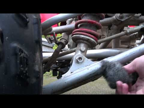 How To: Rust Removal from a Steel Frame