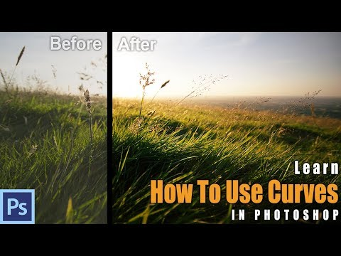 DEFEAT Your FEAR ... Of PHOTOSHOP! Get Started With Curves | Photoshop Tutorial