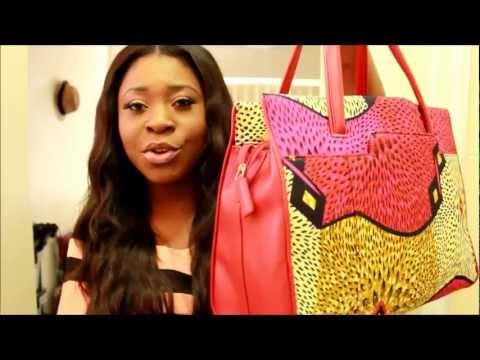 Fashion 233 Review|| 'Akua Ankara Tote Bag'