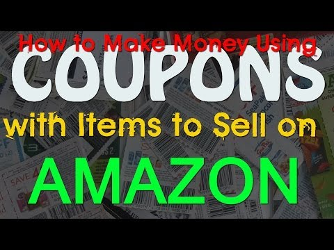 HOW TO EXTREME COUPON AND MAKE MONEY SELLING ON AMAZON FBA