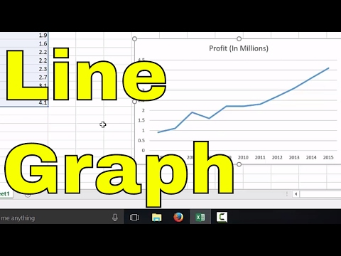 How To Make A Line Graph In Excel-EASY Tutorial