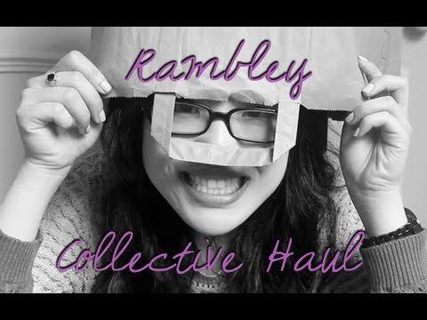 Rambley Collective Haul (Primark, H&M, Boots, Laura Mercier, Marc Jacobs, REN)