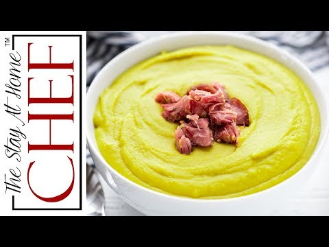 How to Make Split Pea Soup | The Stay At Home Chef