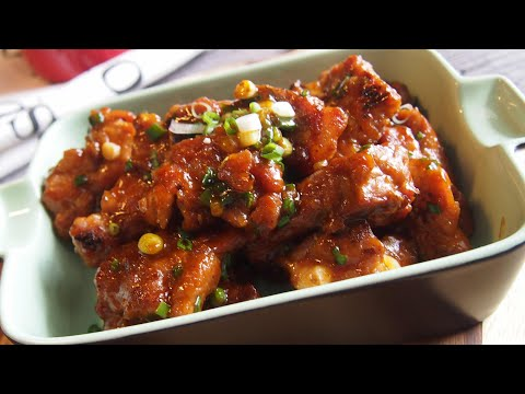 How to cook JUICY Sweet & Sour Pork Ribs - No deep-frying!