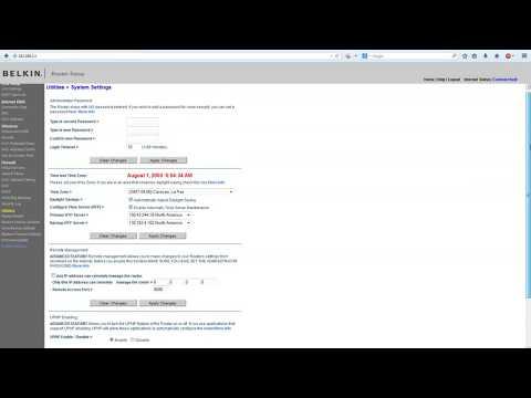 Configurar router inalambrico belkin