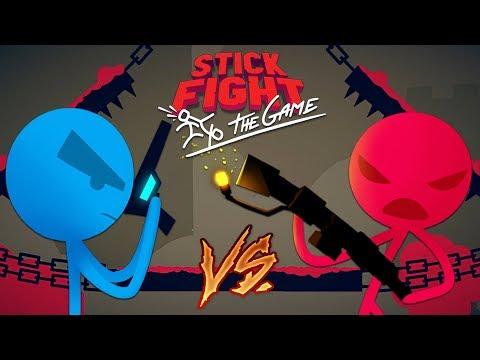 STICK FIGHTER GAME!! STICK FIGHT BOYFRIEND vs GIRLFRIEND! (Stick Fight: The Game)