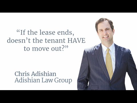 If the lease ends, doesn't the tenant have to move out?