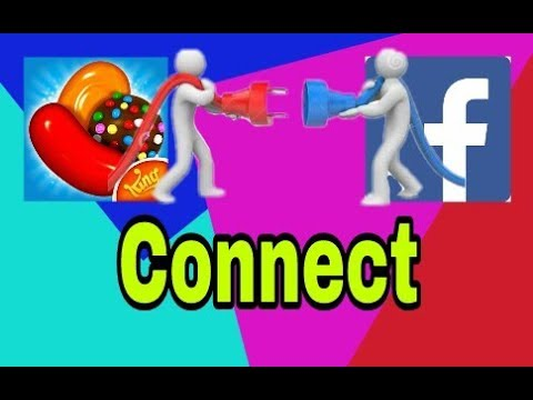 How to Connect  Candy Crush saga  with your FB account