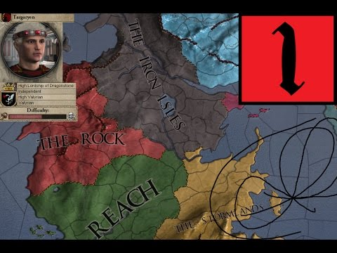 Crusader Kings 2: Game of Thrones [Aegon's Conquest] (1) - King's Landing