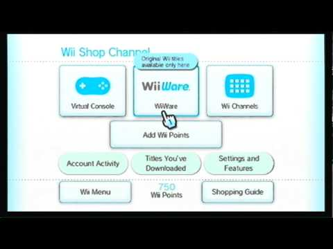 Adding Wii Points