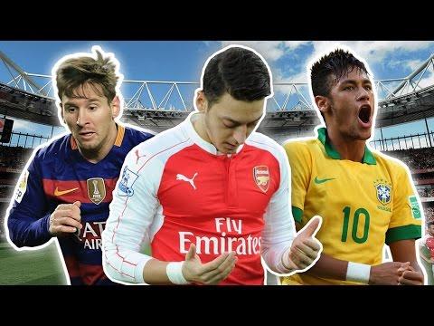 Top 10 Most Charitable Footballers | Messi, Neymar & Özil!